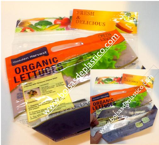 Bolsas para frutas legumbres y verduras